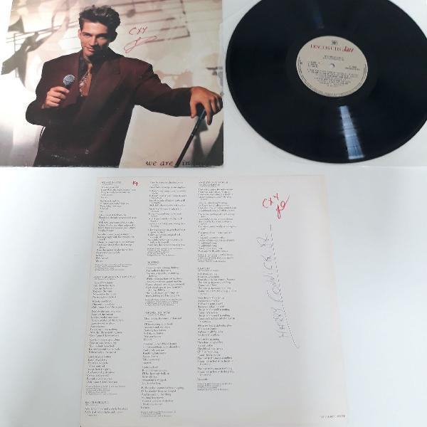 Lp harry connick jr - we are in love disco jazz promo 1990