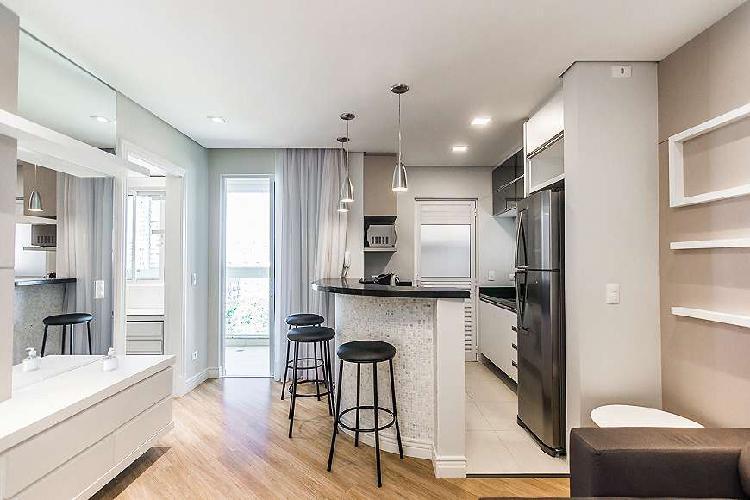 Lindo apartamento totalmente mobiliado no residencial das