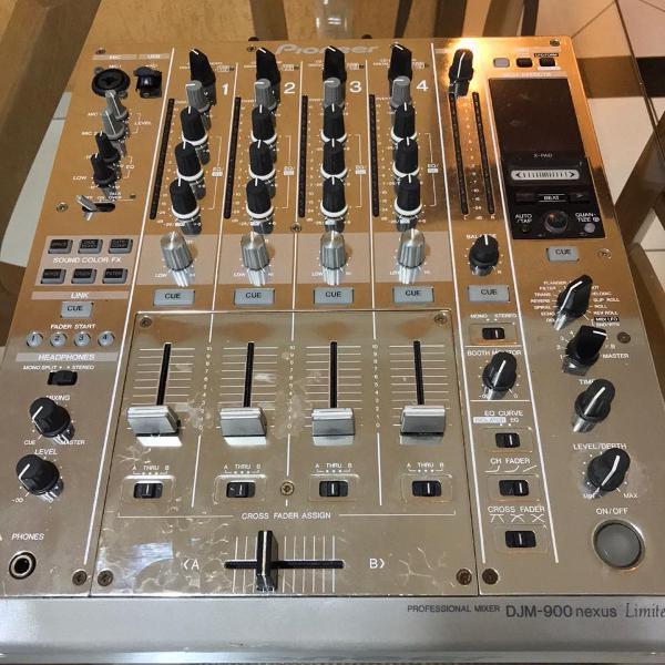 Mixer pioneer djm 900 nexus platinum + brinde (ed. limitada)