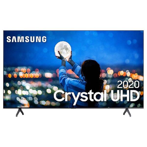 "Smart tv samsung 65"" tu7000 crystal uhd 4k 2020 bluetooth"