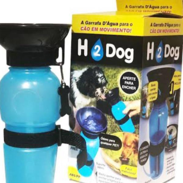 Bebedor portátil para pets aquadog 500 ml