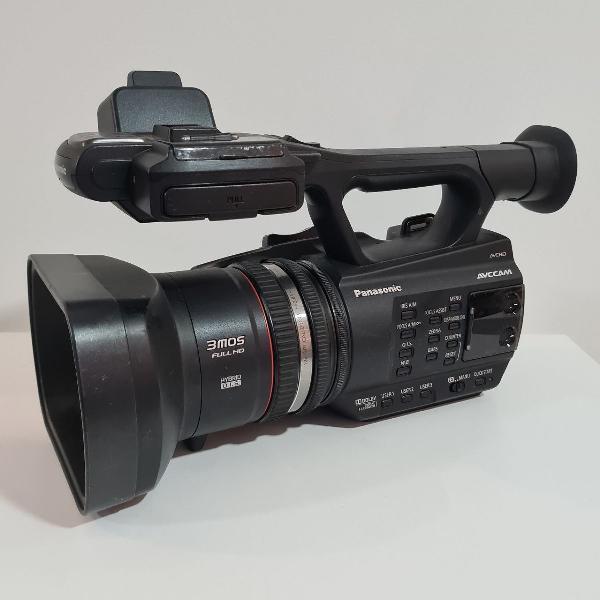 Câmera filmadora panasonic