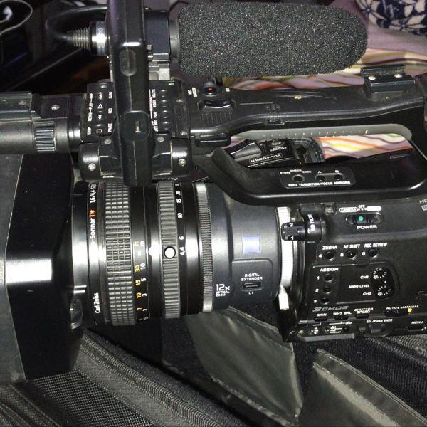 Filmadora profissional sony z7