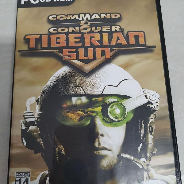 Jogo midia fisica pc command conquer tiberian sun original