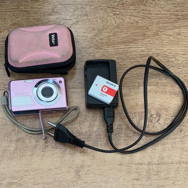 Máquina fotográfica, sony cyber shot