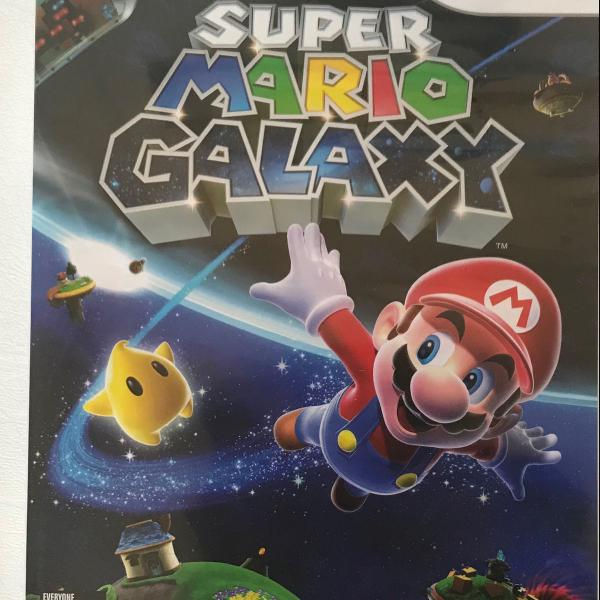 Super mario galaxy nintendo wii original