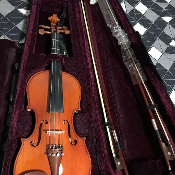 Violino michael vnm46 4/4 maple flame series