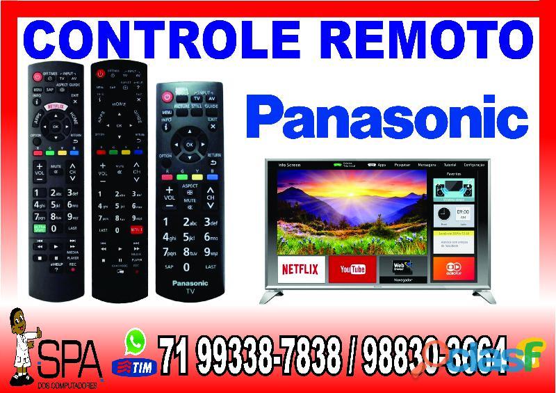 Controle panasonic tv tc l32x30 tecla netflix e amazon em salvador ba