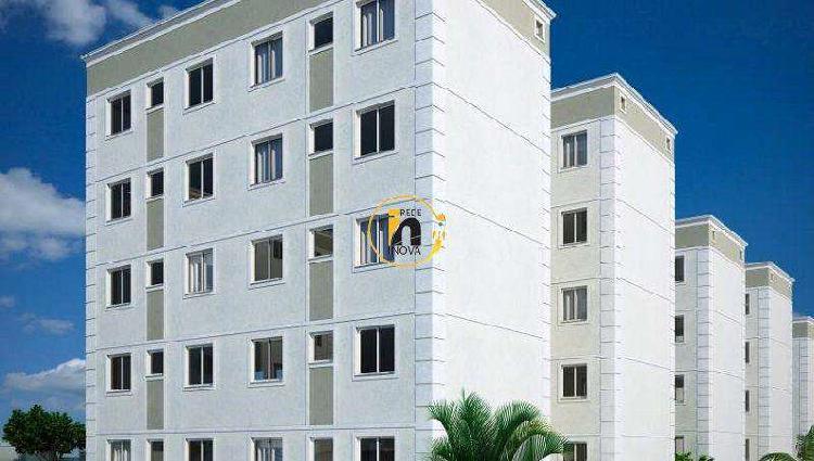 Apartamento, Sapucaia II, 2 Quartos, 1 Vaga