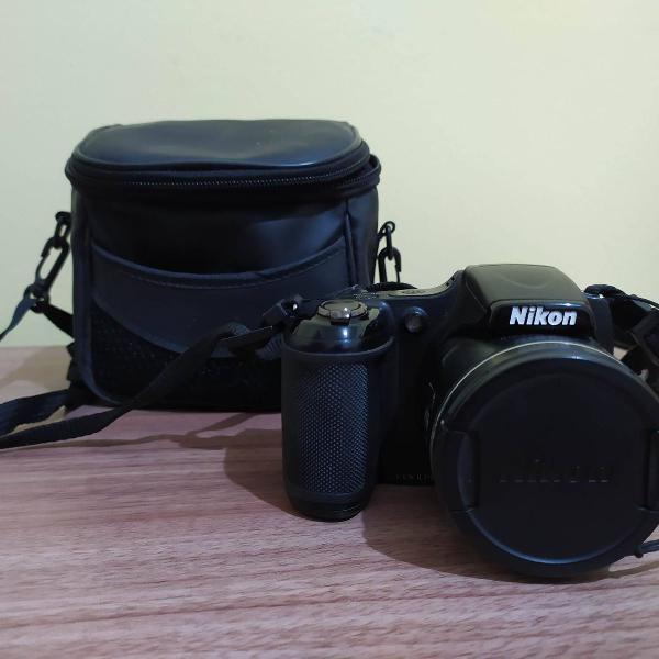 Câmera semiprofissional nikon coolpix l820