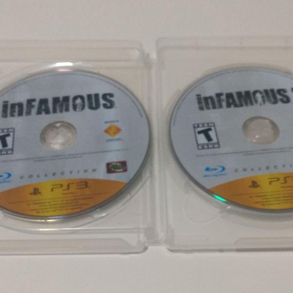 Jogos infamous collection para ps3