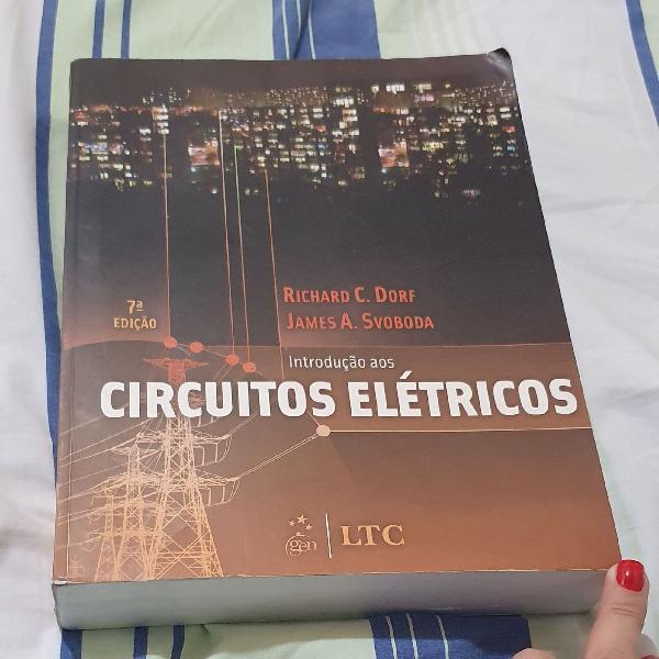 Livro introdução aos circuitos elétricos - 7ª edição