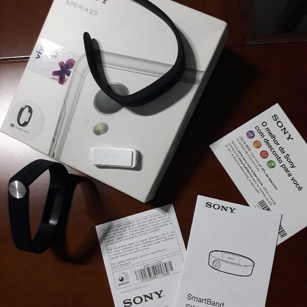 Smartband swr10 sony xperia z3 original, na caixa!