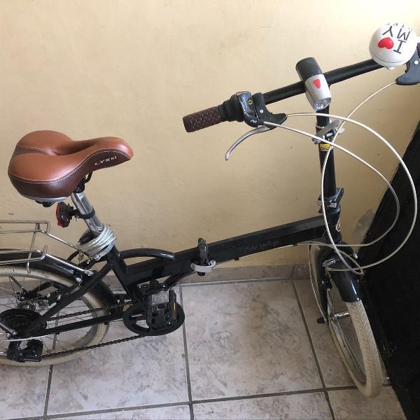 Bicicleta dobrável retrô, echo vintage