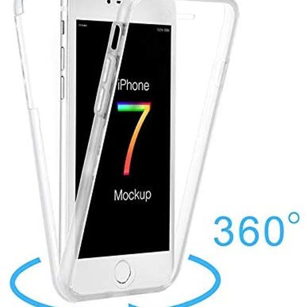 Capa de proteção 360 para iphone 7 e 8