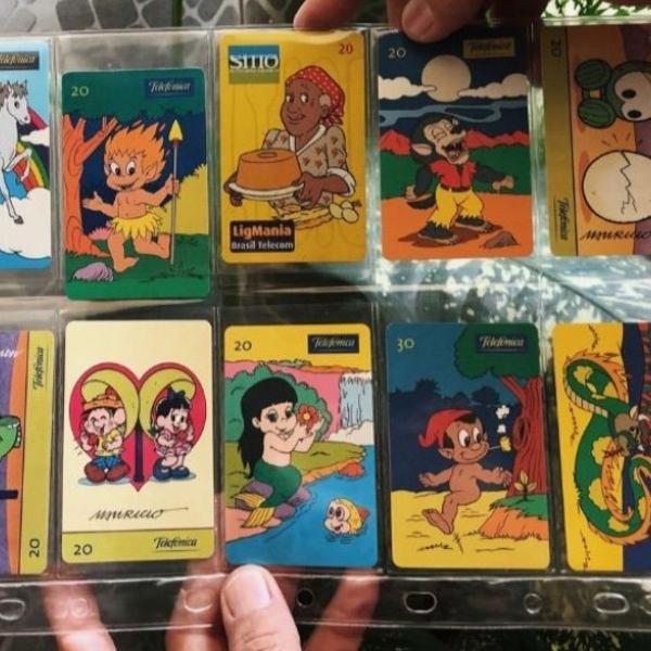 Cartões telefônicos folclore