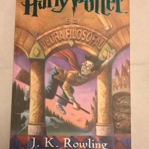 Harry potter e a pedra filosofal jk rowling