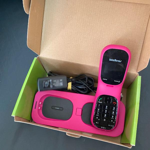 Telefone sem fio, digital, pouquíssimo uso