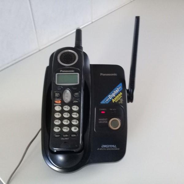 Telefone sem fio panasonic modelo kx-tg2303lbb