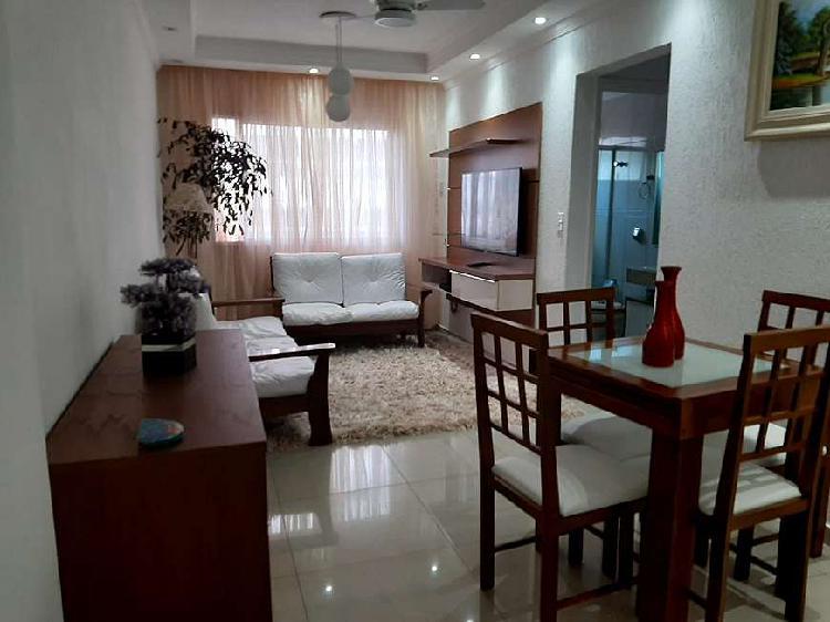 Apartamento dois dormitórios em boqueirão - praia grande -