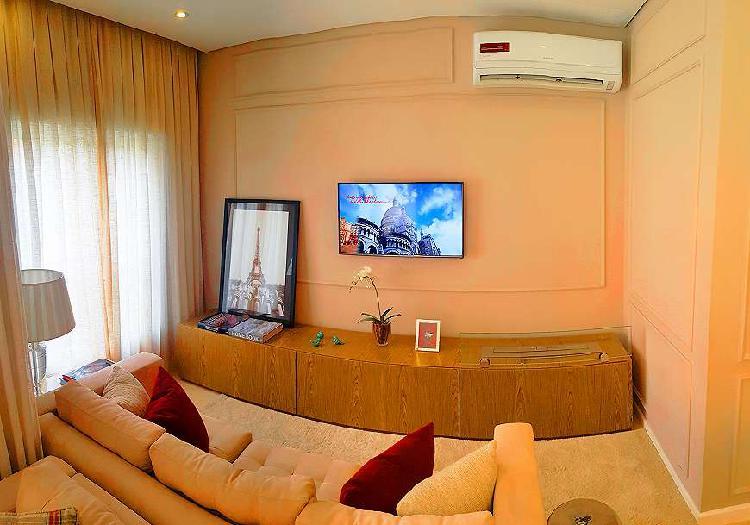 Apartamento para venda com 110m² com 4 quartos em