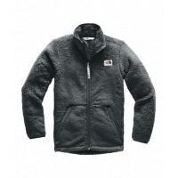 Fleece infantil masculino campshire full zip cinza <div