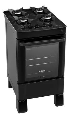 Fogão 4 bocas itatiaia gás acendimento automático forno