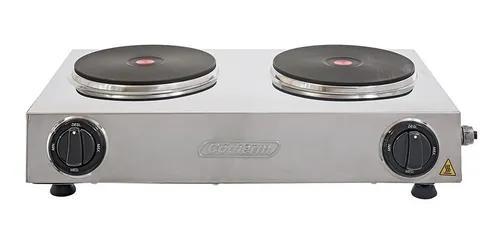 Fogão elétrico hot plate rubi aço inox 220v cotherm bg
