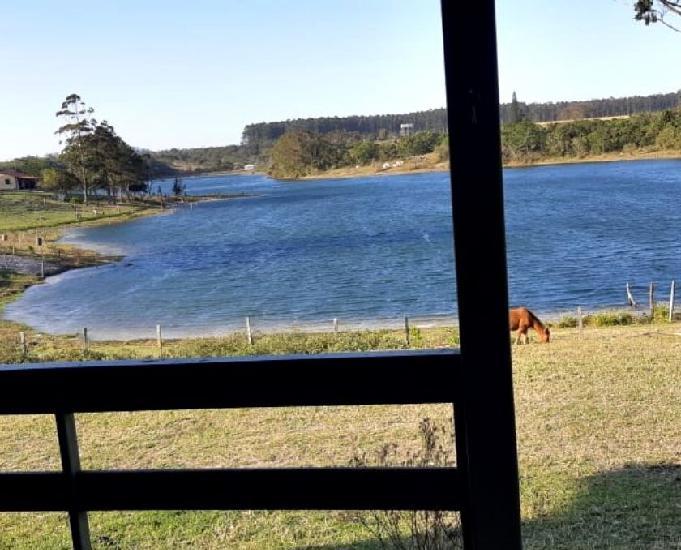 Sitio com fundos para a lagoa do arroio corrente - jaguaruna
