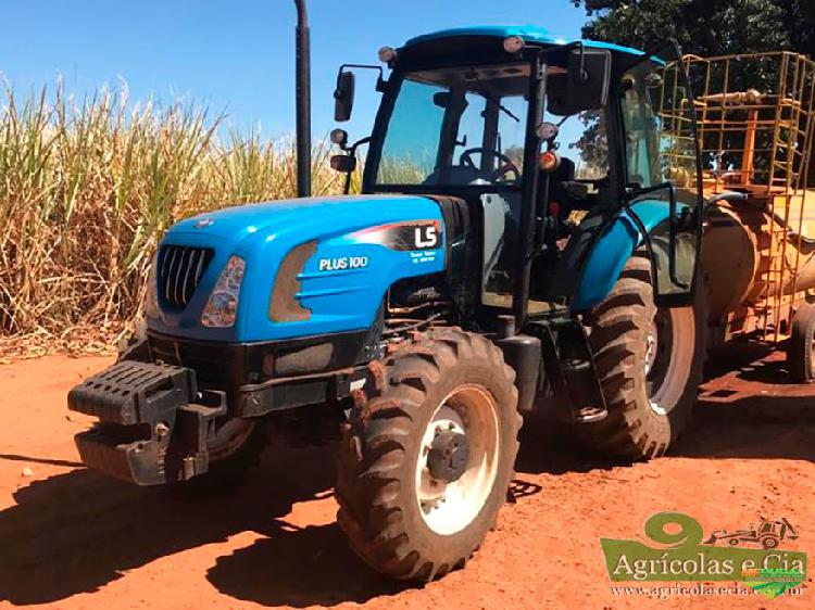 Trator ls tractor plus 100c 4x4 ano 17