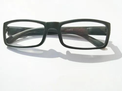 4 armações p/ óculos grau (+2,5) promoção unissex
