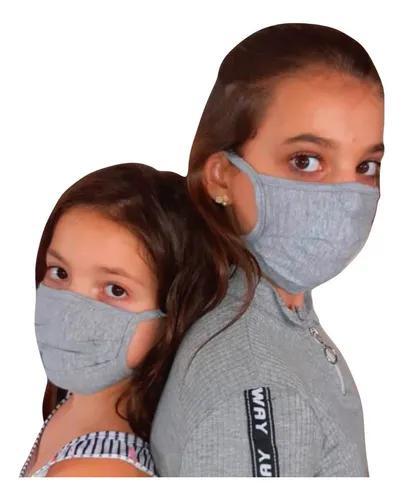 6 máscara infantil pano tecido 100% algodão original997