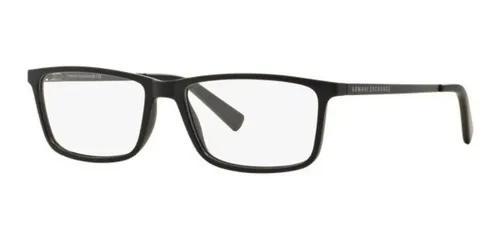 Armação oculos grau armani exchange ax3027l 8078 gunmetal