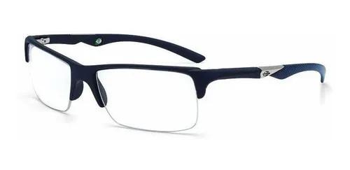 Armação oculos grau mormaii camburi air 1235i3655 - azul