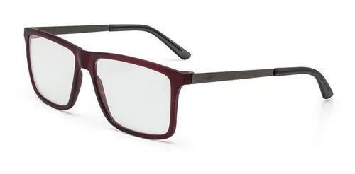 Armação oculos grau mormaii khapa m6045c3856 vermelho