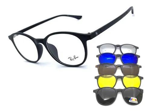 Armação oculos grau solar f