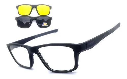 Armação oculos grau solar osônio prime clip on original