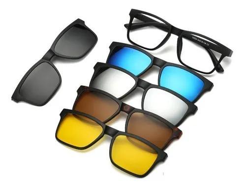 Armação para óculos grau clip on 6