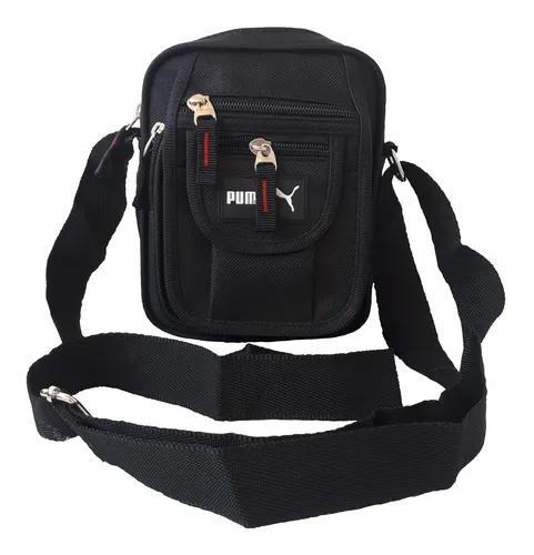 Bolsa masculina lateral bag shoulder carteiro