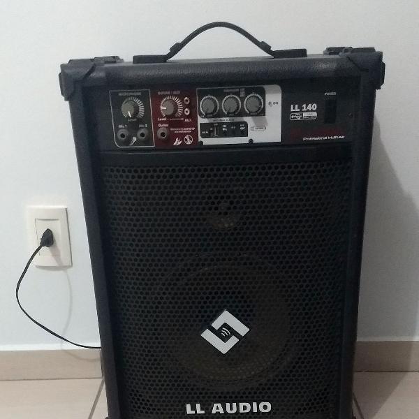 Caixa amplificada multiuso/ll áudio/ll140 usb