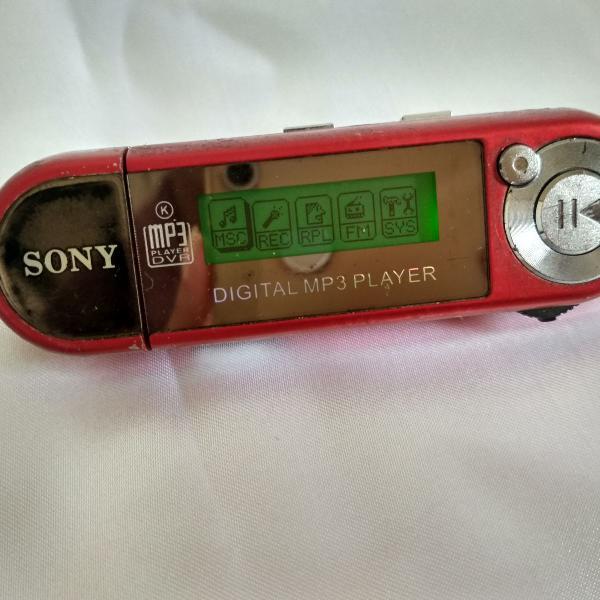 Digital mp3 player sony 1 gb
