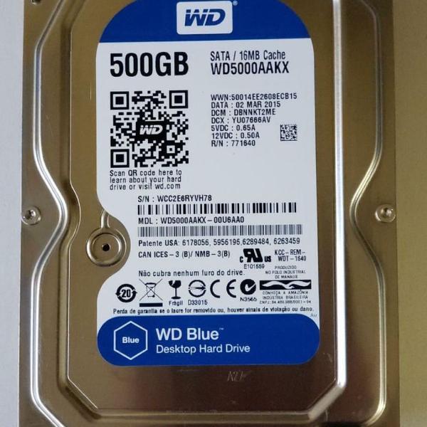 Hd 500gb wd blue