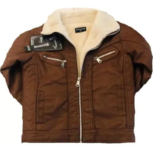 Jaqueta forrada infantil blusa quentinha casaco de criança
