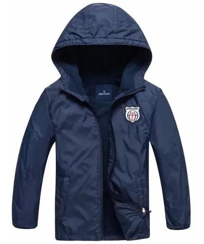 Jaqueta infantil menino casaco blusa criança frio forrada