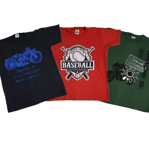 Kit 3 camisa jovens verão crianças oferta
