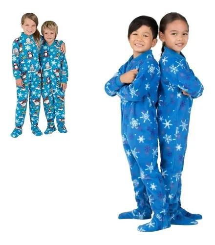 Macacão pijama menina menino infantil criança até tamanho