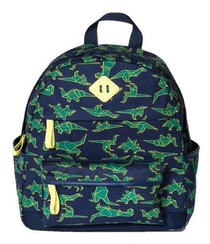 Mochila escolar infantil menino criança dino dinossauro