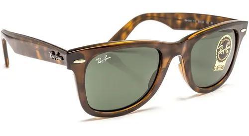 Oculos de sol rb2140 wayfarer tartaruga g15 unissex 50, 54mm