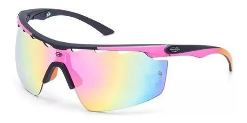 Oculos sol mormaii athlon 4 m0042aaf94 preto rosa espelhado