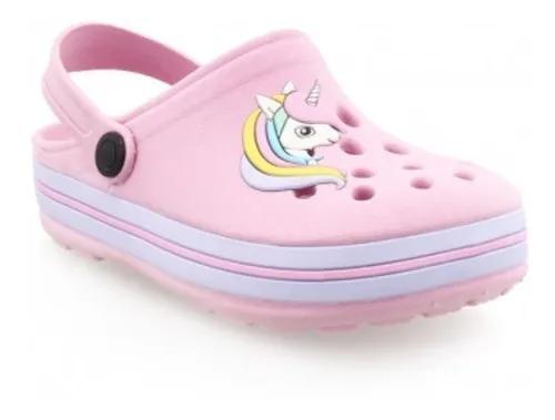 Sandália infantil babuche criança menina rosa